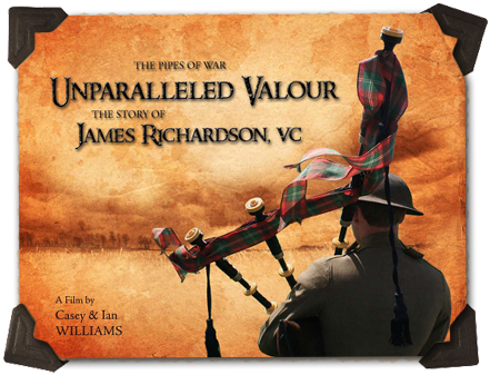 Unparalleled Valour, The Story of James Richardson, VC